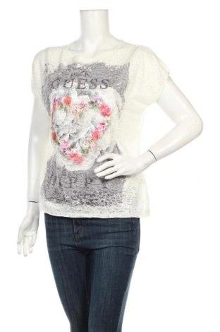 Dámska blúza Guess, Veľkosť S, Farba Kremová, 60% polyester, 40% bavlna, Cena  27,84€