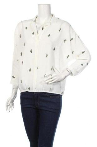 Дамска блуза Le Temps Des Cerises, Размер XS, Цвят Бял, 95% полиестер, 5% еластан, Цена 20,80лв.