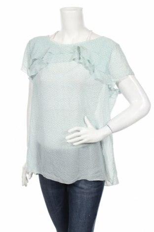 Дамска блуза Loft By Ann Taylor, Размер XL, Цвят Син, Цена 18,11лв.