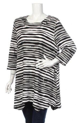 Bluză de femei Pont Neuf, Mărime XL, Culoare Multicolor, 95% viscoză, 5% elastan, Preț 72,45 Lei