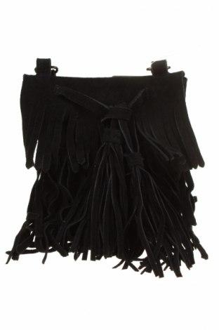 Geantă de femei Bon Prix, Culoare Negru, Velur natural, Preț 160,04 Lei