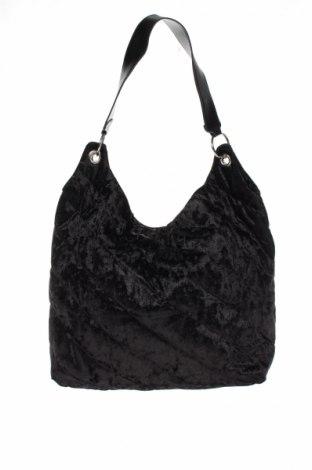 Γυναικεία τσάντα Bpc Bonprix Collection, Χρώμα Μαύρο, Κλωστοϋφαντουργικά προϊόντα, Τιμή 16,70€