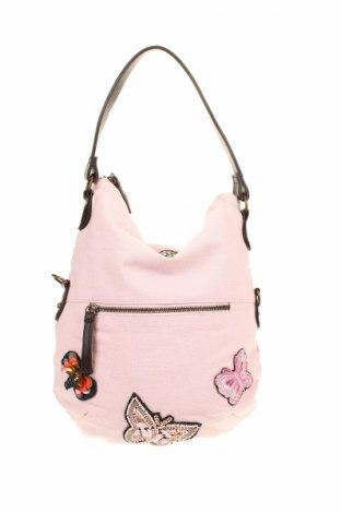 Γυναικεία τσάντα Bpc Bonprix Collection, Χρώμα Ρόζ , Κλωστοϋφαντουργικά προϊόντα, Τιμή 17,07€