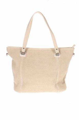 Γυναικεία τσάντα Bpc Bonprix Collection, Χρώμα  Μπέζ, Δερματίνη, Τιμή 17,07€