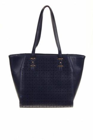 Γυναικεία τσάντα Bpc Bonprix Collection, Χρώμα Μπλέ, Δερματίνη, Τιμή 16,33€
