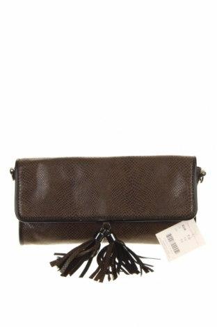 Γυναικεία τσάντα Camaieu, Χρώμα Πράσινο, Δερματίνη, Τιμή 12,66€