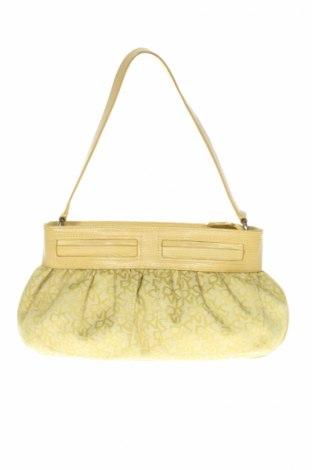 Γυναικεία τσάντα DKNY, Χρώμα Κίτρινο, Κλωστοϋφαντουργικά προϊόντα, Τιμή 20,41€