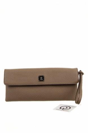 Γυναικεία τσάντα Kem, Χρώμα Καφέ, Δερματίνη, Τιμή 16,45€