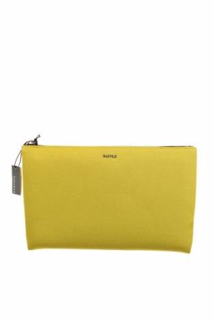 Дамска чанта Parfois, Цвят Зелен, Текстил, еко кожа, Цена 25,92лв.