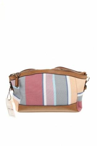 Дамска чанта Parfois, Цвят Многоцветен, Текстил, еко кожа, Цена 35,28лв.