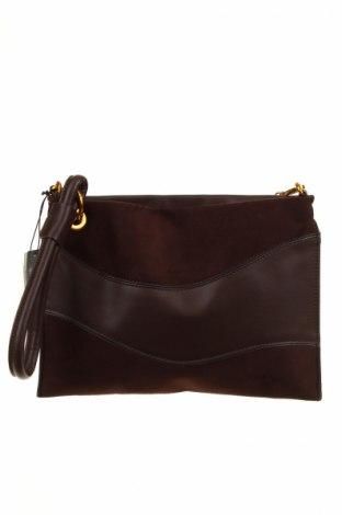 Γυναικεία τσάντα Parfois, Χρώμα Καφέ, Δερματίνη, κλωστοϋφαντουργικά προϊόντα, Τιμή 8,04€
