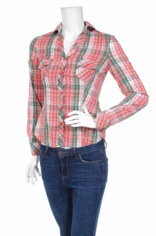 Дамска риза Adrexx, Размер S, Цвят Многоцветен, 66% памук, 30% полиамид, 4% еластан, Цена 15,40лв.