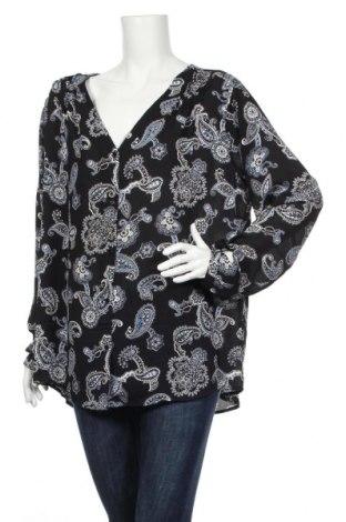 Дамска риза Alexia, Размер XXL, Цвят Черен, Полиестер, Цена 4,73лв.