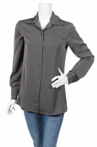 Γυναικείο πουκάμισο Armani Exchange, Μέγεθος S, Χρώμα Γκρί, Πολυεστέρας, Τιμή 7,31€