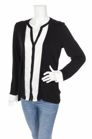 Дамска риза Charles Vogele, Размер L, Цвят Черен, 95% вискоза, 5% еластан, Цена 20,40лв.