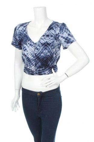 Дамска риза Clockhouse, Размер S, Цвят Син, Вискоза, Цена 18,02лв.