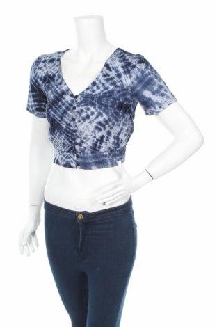 Дамска риза Clockhouse, Размер XS, Цвят Син, Вискоза, Цена 18,02лв.