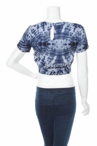Дамска риза Clockhouse, Размер XS, Цвят Син, Вискоза, Цена 4,76лв.