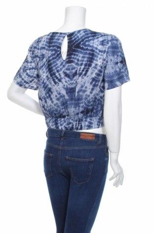 Дамска риза Clockhouse, Размер L, Цвят Син, Вискоза, Цена 18,02лв.