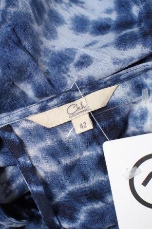 Дамска риза Clockhouse, Размер L, Цвят Син, Вискоза, Цена 4,76лв.