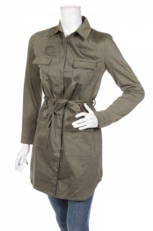 Γυναικείο πουκάμισο Kookai, Μέγεθος S, Χρώμα Πράσινο, 97% βαμβάκι, 3% ελαστάνη, Τιμή 17,19€