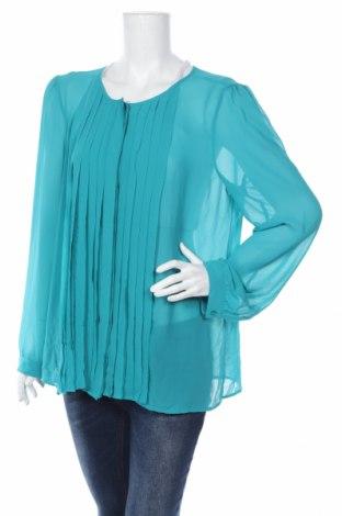 Дамска риза Loft By Ann Taylor, Размер XL, Цвят Син, Полиестер, Цена 38,64лв.
