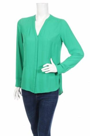 Дамска риза Marks & Spencer Autograph, Размер M, Цвят Зелен, Полиестер, Цена 21,21лв.