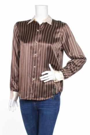 Γυναικείο πουκάμισο Ralph Lauren, Μέγεθος M, Χρώμα Καφέ, Μετάξι, Τιμή 39,46€
