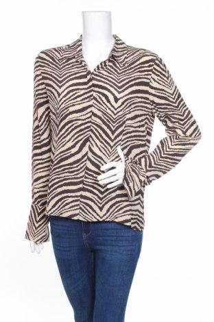 Γυναικείο πουκάμισο The Limited, Μέγεθος L, Χρώμα  Μπέζ, Μετάξι, Τιμή 45,85€