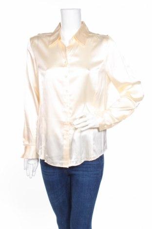 Γυναικείο πουκάμισο Valerie Stevens, Μέγεθος M, Χρώμα Εκρού, 95% μετάξι, 5% ελαστάνη, Τιμή 40,75€