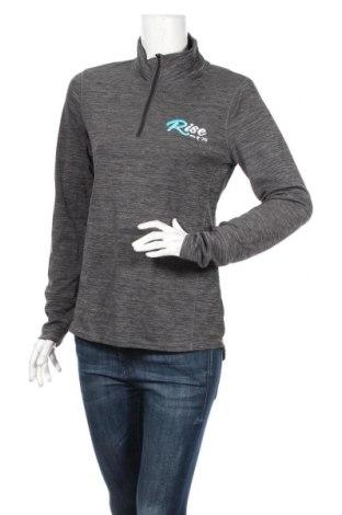 Дамска спортна блуза Active&Co, Размер M, Цвят Сив, Полиестер, Цена 10,08лв.