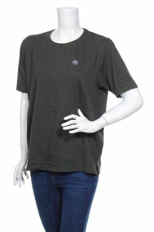 Γυναικείο t-shirt Afl, Μέγεθος XL, Χρώμα Πράσινο, Βαμβάκι, Τιμή 2,76€