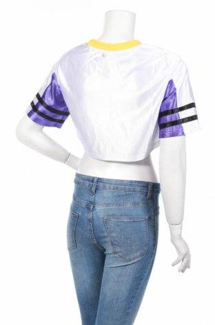 Дамска спортна блуза Pretty Little Thing, Размер S, Цвят Бял, Полиестер, Цена 3,08лв.