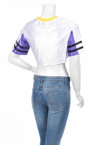 Дамска спортна блуза Pretty Little Thing, Размер XS, Цвят Бял, Полиестер, Цена 3,08лв.