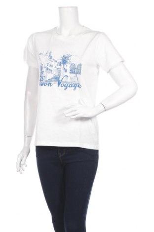 Tricou de femei Yessica, Mărime S, Culoare Alb, Bumbac, Preț 65,31 Lei