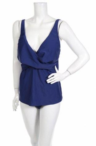 Costum de baie de damă Bpc Bonprix Collection, Mărime XXL, Culoare Albastru, 80% poliamidă, 20% elastan, Preț 88,37 Lei