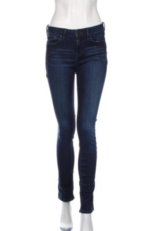 Dámské džíny  Calvin Klein Jeans, Rozměr S, Barva Modrá, 95% bavlna, 3% jiné materiály, 2% elastan, Cena  592,00Kč