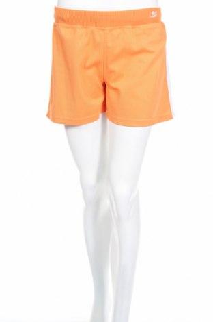 Дамски къс панталон, Размер M, Цвят Оранжев, Полиестер, Цена 6,25лв.