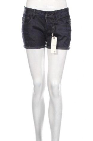 Pantaloni scurți de femei G-Star Raw, Mărime M, Culoare Albastru, 96% bumbac, 4% elastan, Preț 147,69 Lei