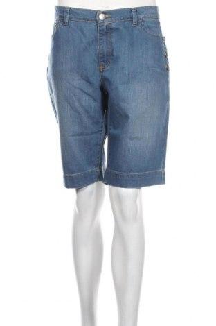 Pantaloni scurți de femei Le Phare De La Baleine, Mărime XL, Culoare Albastru, 98% bumbac, 2% elastan, Preț 94,13 Lei