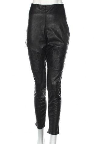 Dámské kožené legíny  H&M Divided, Rozměr XL, Barva Černá, Eko kůže, Cena  201,00Kč