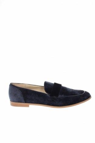 Încălțăminte de damă Zara, Mărime 39, Culoare Albastru, Textil, Preț 129,74 Lei