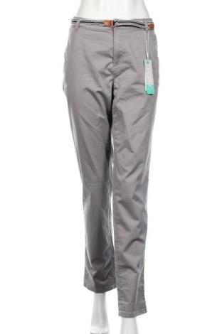 Damskie spodnie Esprit, Rozmiar XL, Kolor Szary, 98% bawełna, 2% elastyna, Cena 81,60zł