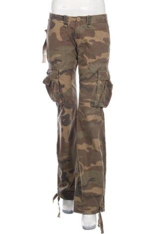 Дамски панталон Le Temps Des Cerises, Размер L, Цвят Зелен, Памук, Цена 26,55лв.