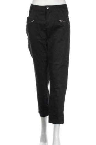Γυναικείο παντελόνι Serra, Μέγεθος XL, Χρώμα Μαύρο, Βαμβάκι, ελαστάνη, Τιμή 8,77€