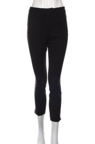 Дамски панталон Sisley, Размер M, Цвят Черен, 63% полиестер, 33% вискоза, 4% еластан, Цена 32,13лв.