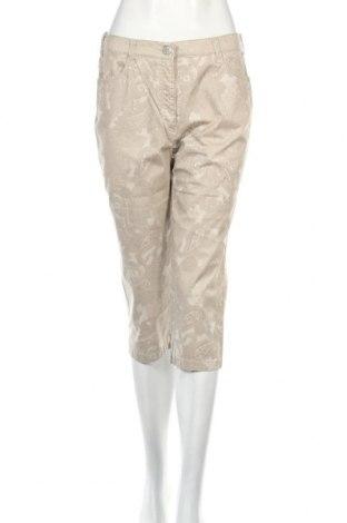 Дамски панталон Toni, Размер M, Цвят Бежов, 97% памук, 3% еластан, Цена 5,20лв.