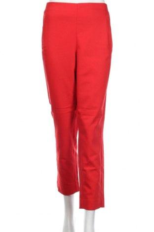 Γυναικείο παντελόνι Vero Moda, Μέγεθος L, Χρώμα Κόκκινο, 49% βαμβάκι, 47% πολυεστέρας, 4% ελαστάνη, Τιμή 9,96€