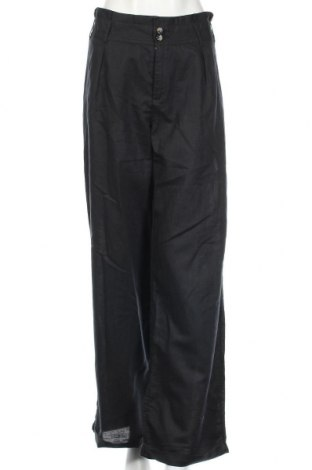 Дамски панталон Yessica, Размер XL, Цвят Черен, 55% лен, 45% памук, Цена 40,32лв.