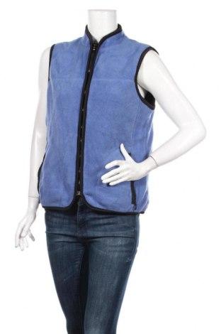 Γυναικείο fleece γιλέκο, Μέγεθος M, Χρώμα Μπλέ, Πολυεστέρας, Τιμή 11,11€